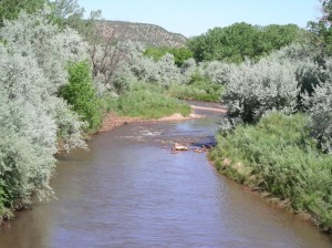 Pecos River in Villanueva
