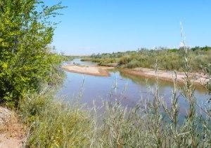 Along the Rio Grande River