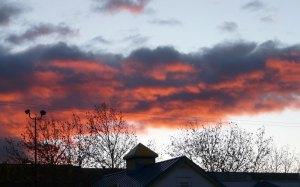 Sunrise over Sandia Mountains