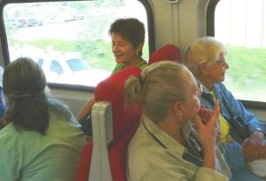 Thursday Birders on Rail Runner