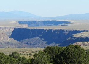 Rio Grande Gorge south of Taos