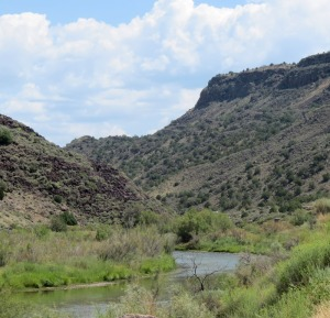 Orilla Verde south of Taos Junction Bridge