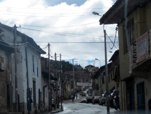 Peru-Cuzco-street